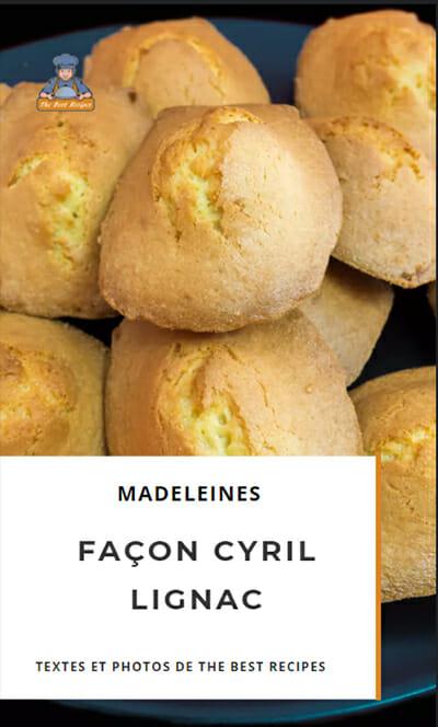 Recette Web Story Madeleines Cyril Lignac