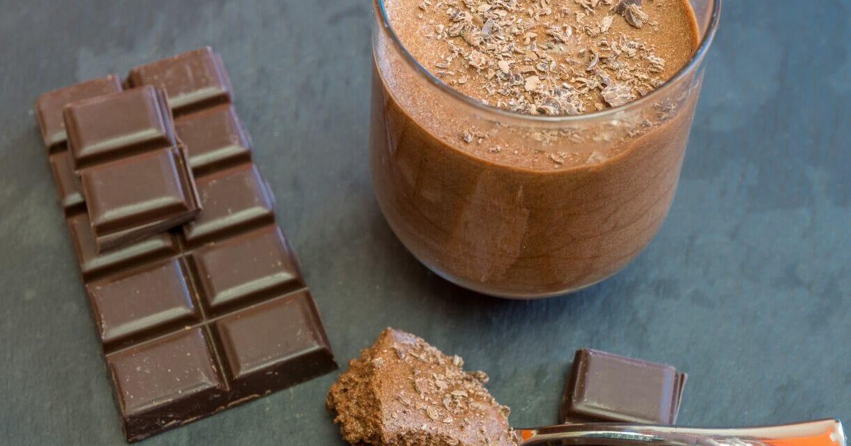 Recette de La véritable mousse au chocolat noir