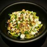 Recette Salade de courgettes grillées, fêta, noisettes et menthe fraîche