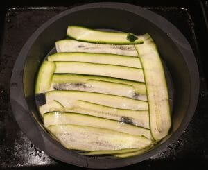 Salade courgette