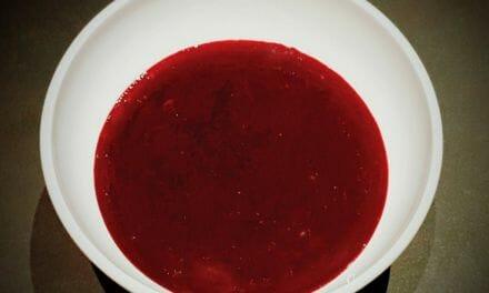 Recette de Coulis de fruits rouges maison
