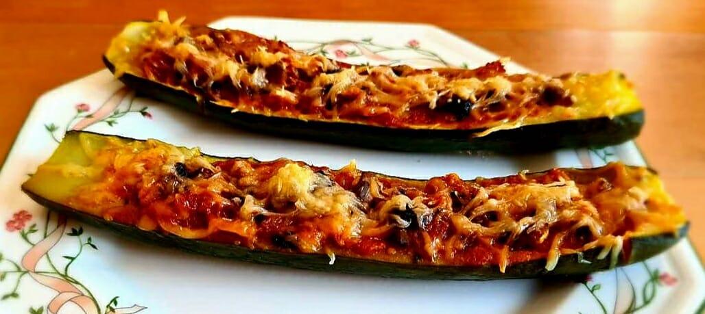 Recette de Courgettes farcies sans viande (recette végétarienne)