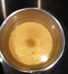 Risotto de coquillettes aux asperges vertes et aux champignons