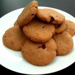 Cookies cannelle et pépites de chocolat