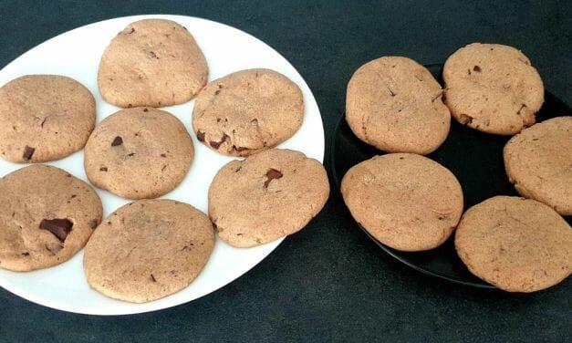 Recette de Cookies à la cannelle et pépites de chocolat