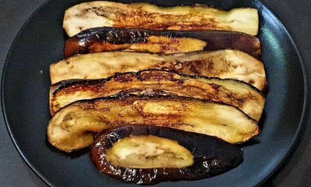 Recette de Gaji Namul (ou aubergines marinées au soja)