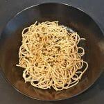 Recette japonaise de Nouilles udon froides pimentées