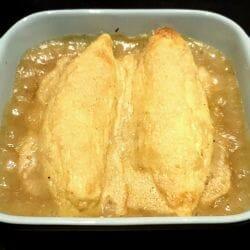 Quenelles de saumon gratinées au parmesan