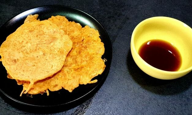 Recette de Kimchi-jeon (pancake ou galette de kimchi)