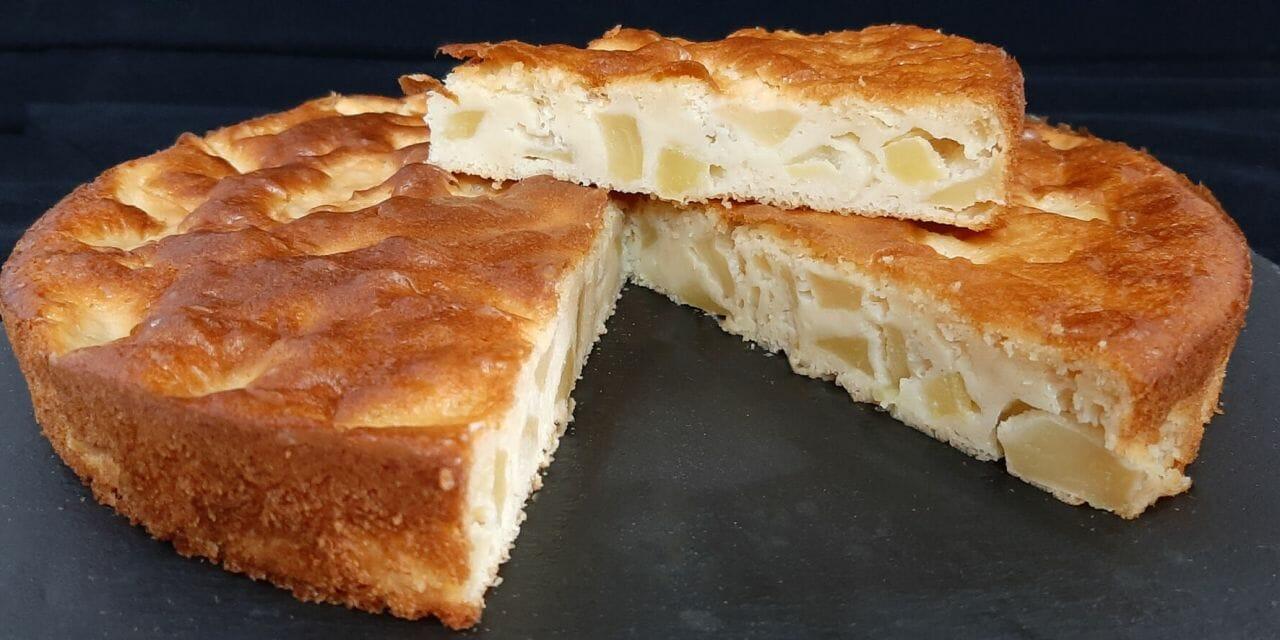 Recette de Gâteau aux pommes extra moelleux et ultra rapide