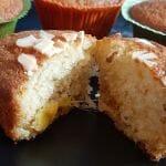 Recette de Muffins américains à la mangue fraîche caramélisée au miel