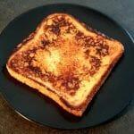 Recette du pain perdu au lait d'amande facile à faire