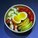 Recette de Quinoa bowl hyperprotéiné (quinoa, œuf, halloumi)