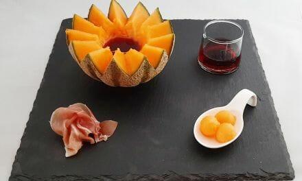 Recette du Melon charentais au Porto et sa chiffonnade de jambon cru