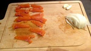 Pappardelle au saumon fumé