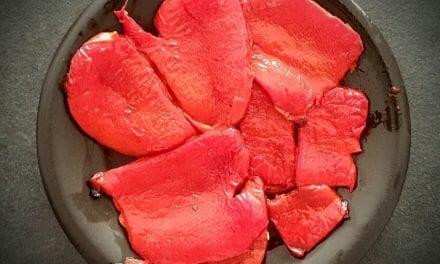 Recette de poivrons au four. Comment enlever facilement la peau !