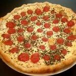 Recette de Tarte façon quiche aux tomates cerises, mozzarella di Bufala et basilic