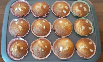 Recette de Muffins aux mirabelles et amandes