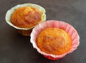 Muffins salés tomate basilic