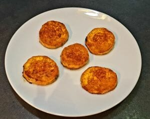 Palets de patate douce