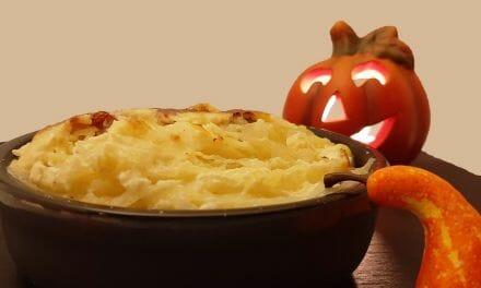Courge spaghetti au four. Une recette de gratin light et facile pour Halloween